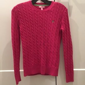 Lilly Pulitzer Cable Knit Sweater